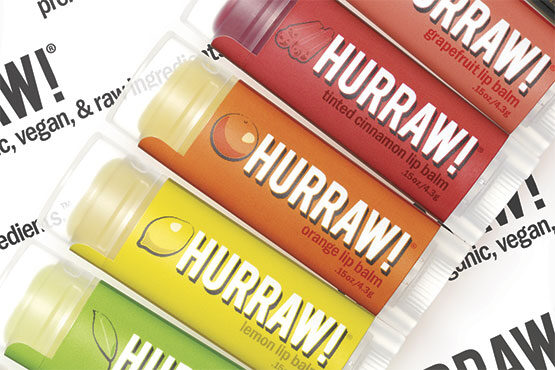 Hurraw Lipbalms